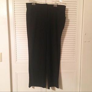 NWT JM COLLECTION black trouser